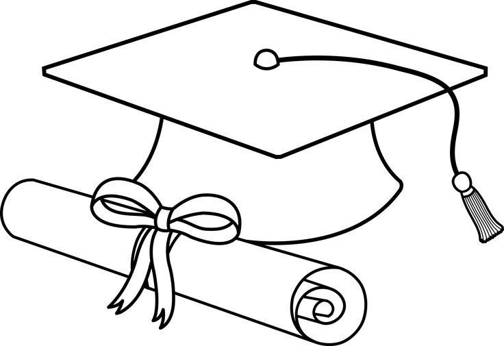 Cap And Diploma Clipart - Tumundografico