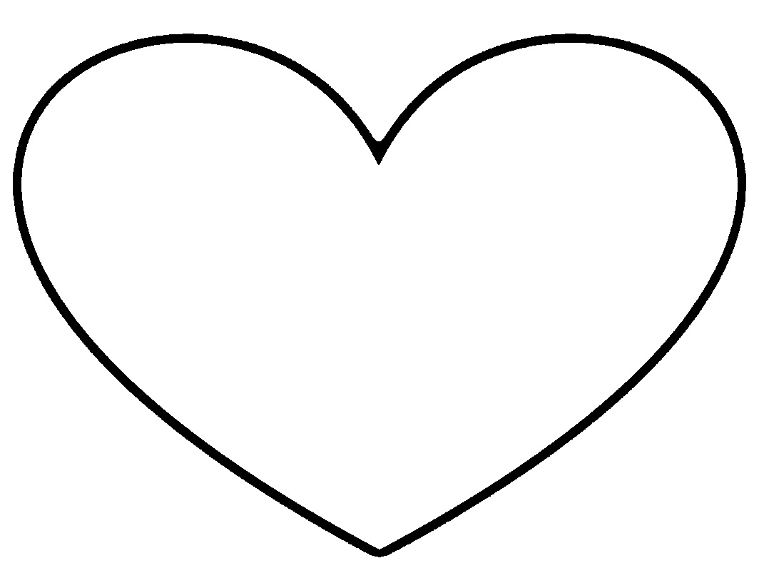 Clip Art Heart Black And White - ClipArt Best