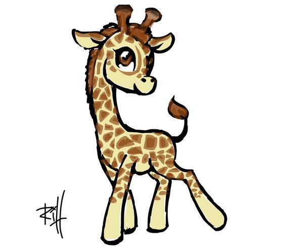 Drawings of giraffes clipart best for Giraffe draw something