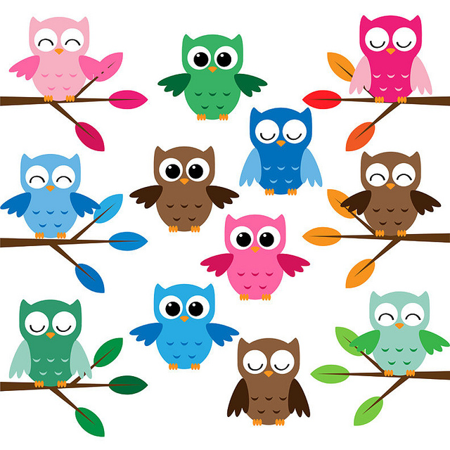 Cute cartoon owls pictures clipart best for Cartoon owl sketch