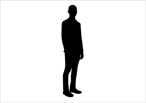 Man Standing Silhouette Images Stock Photos amp Vectors