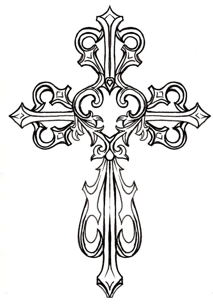 Cross my Heart Wood Crosses Rustic Cross and Crosses
