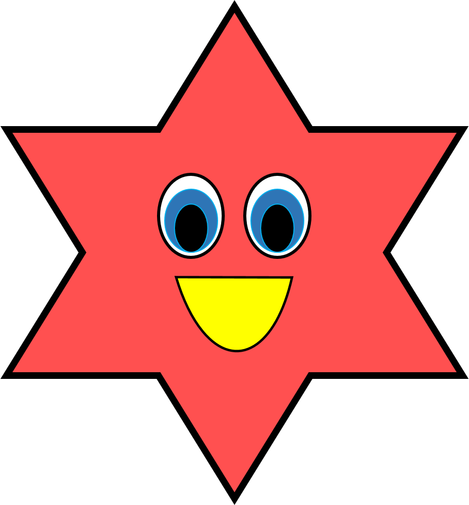 how to make a perfect star shape