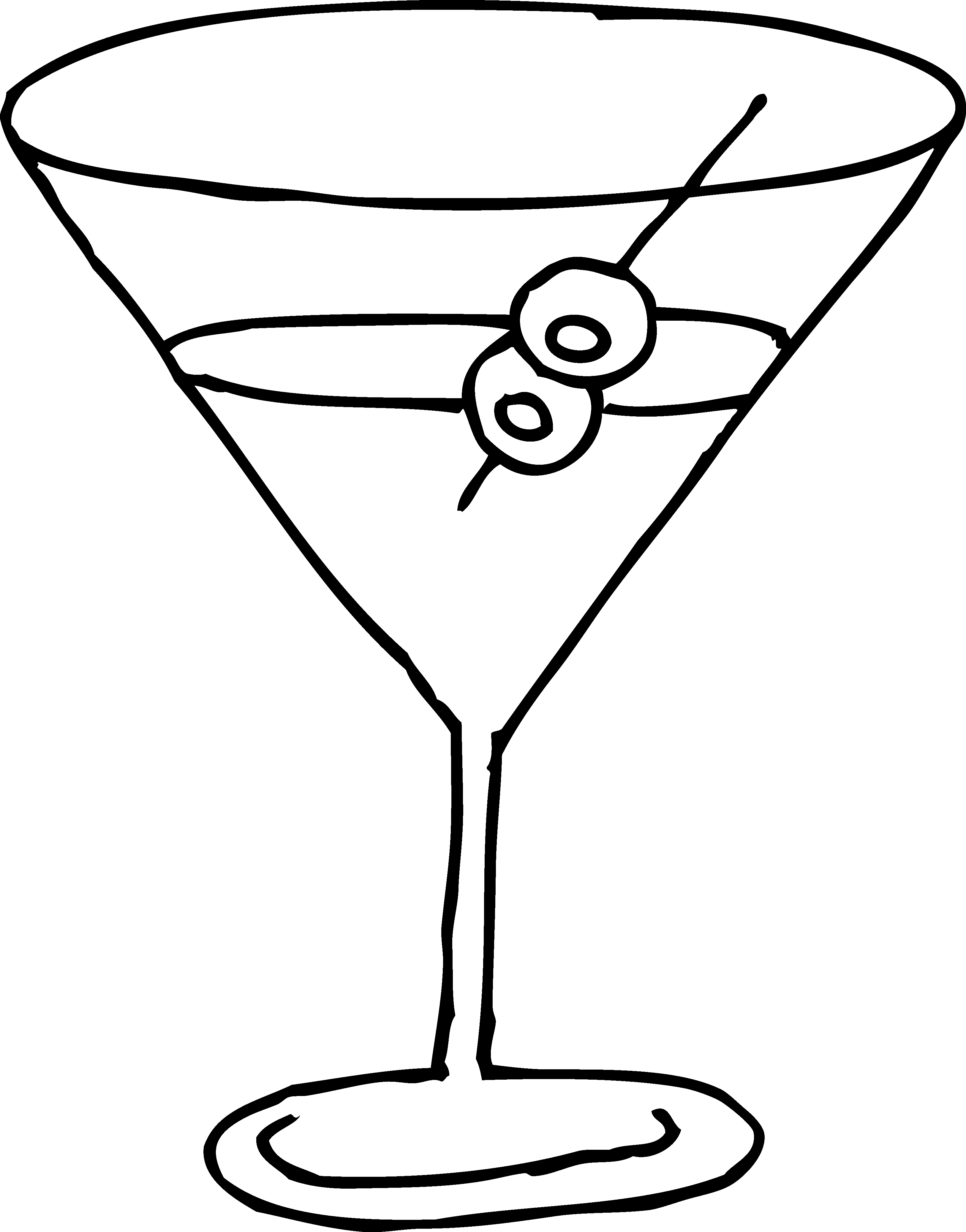Line Drawing Glasses : Cocktail glass clip art clipart best