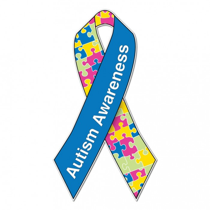 Autism Awareness Ribbon - ClipArt Best