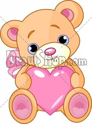How to draw a cute cartoon teddy bear - photo#27