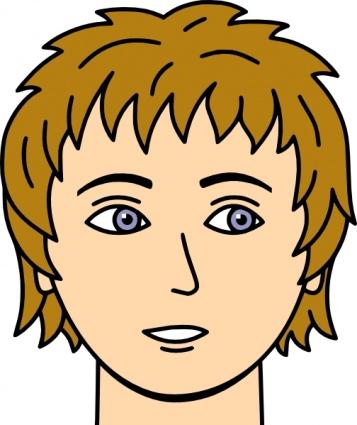 Man Face Cartoon - ClipArt Best