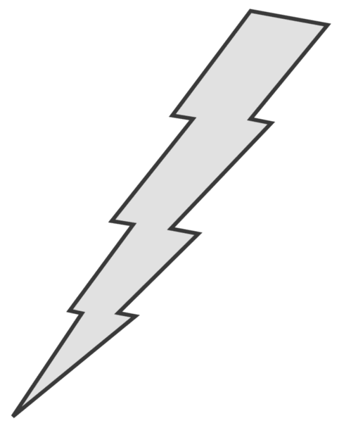 Lighting Bolt Drawings Drawings · Free Lightning
