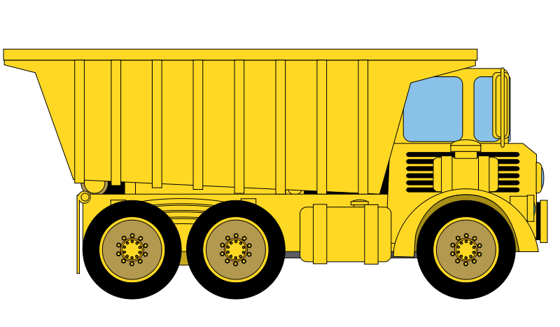 free clip art cartoon trucks - photo #7