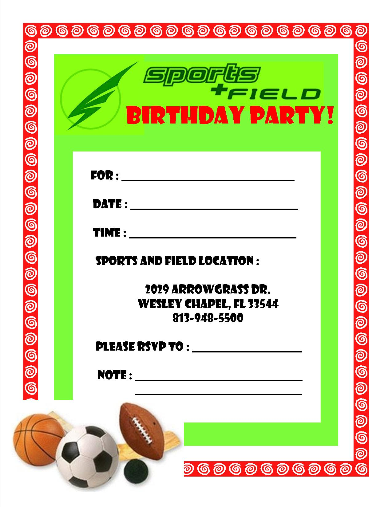Free Invitation For Party Soccer - ClipArt Best