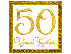Logo 50th Marriage Anniversary Clipart Best