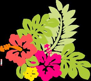 Hawaiian Flowers Clip Art No Background