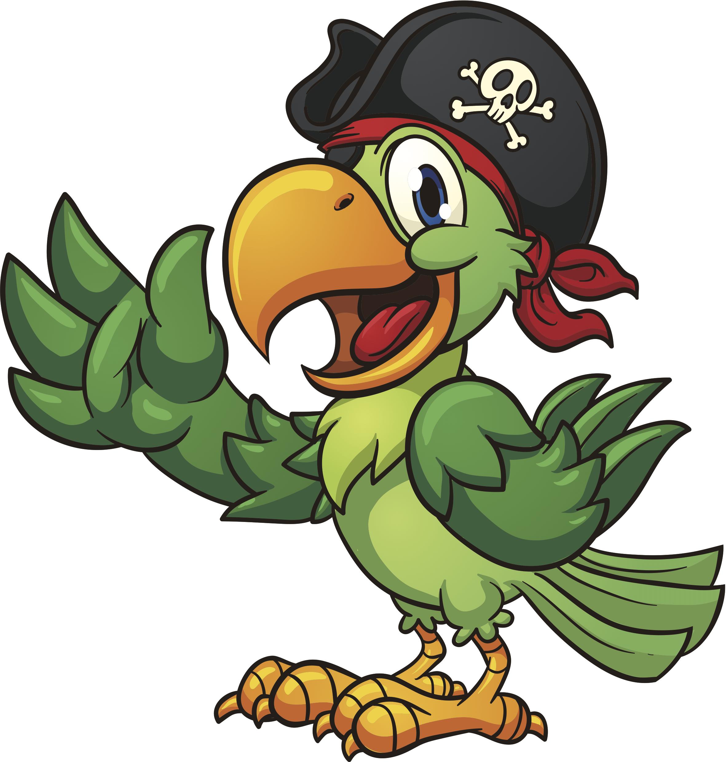 cartoon pirates png clipart best parrot clip art black n white parrot clipart images