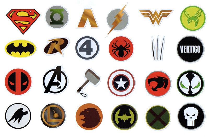 1000+ images about superhero // logos