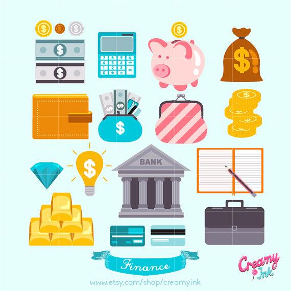 Finance Graphics: Coupon Graphics Clip Art