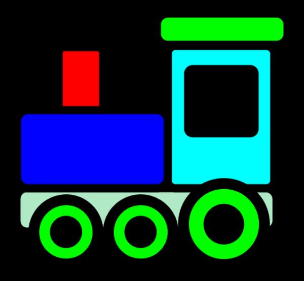 train clip art free download - photo #14