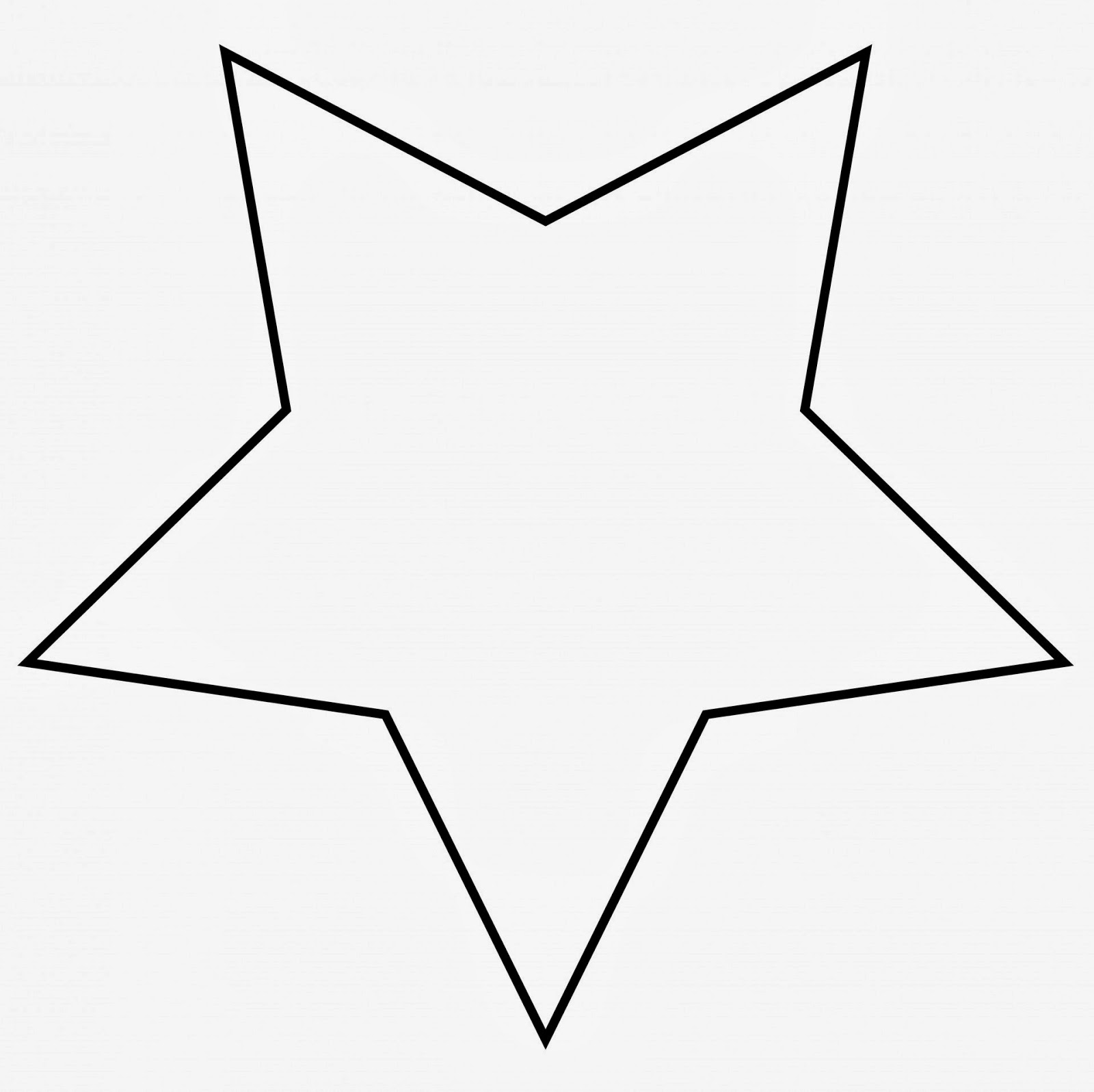 Rounded Star Template Clipart Best Clipart Best