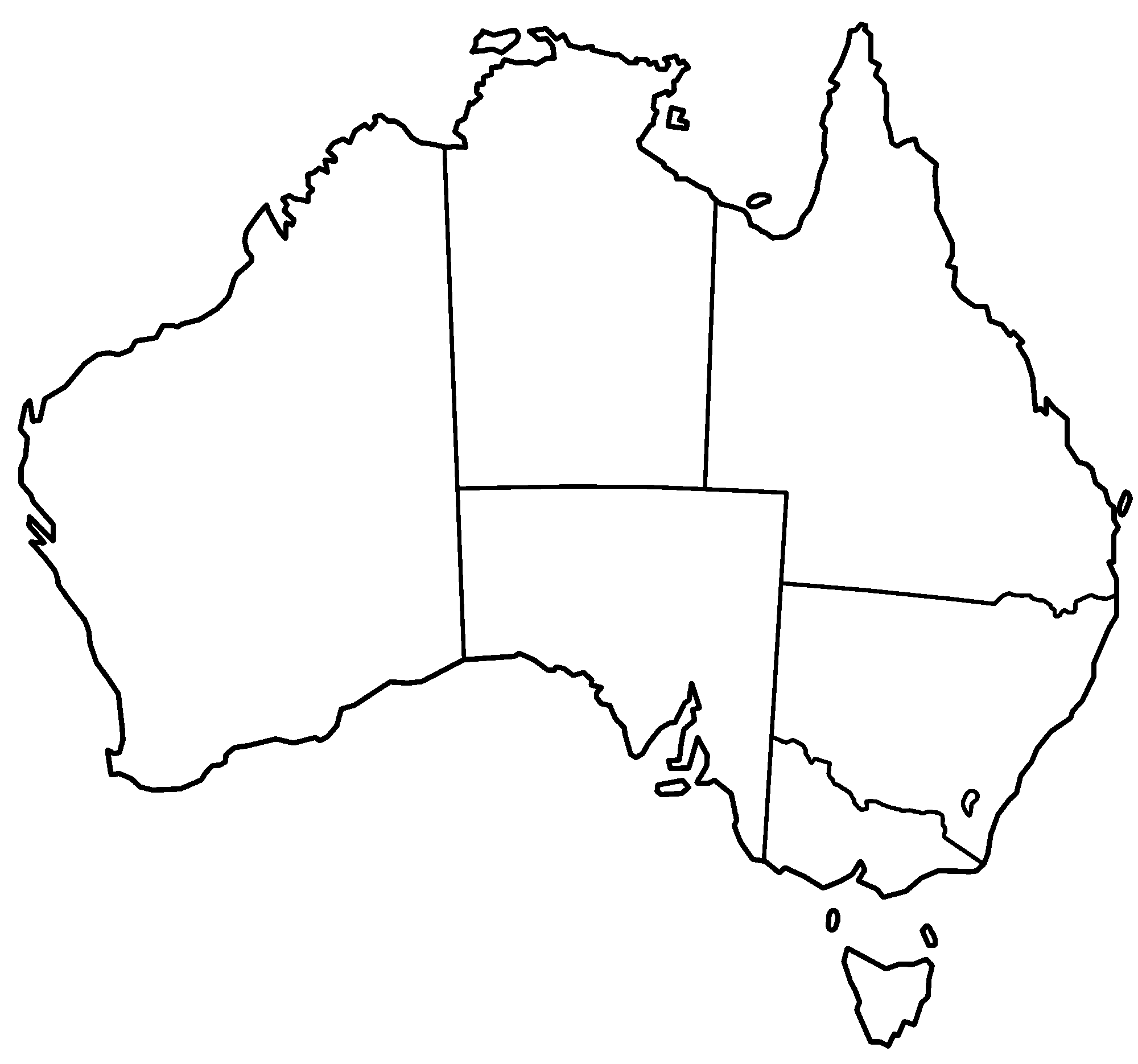 32 australia outline map . Free cliparts that you can download to you ...
