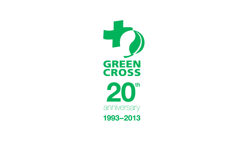 Green Cross International 20th anniversary in September