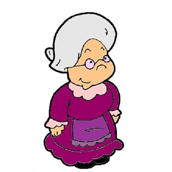 funny granny clipart - photo #29