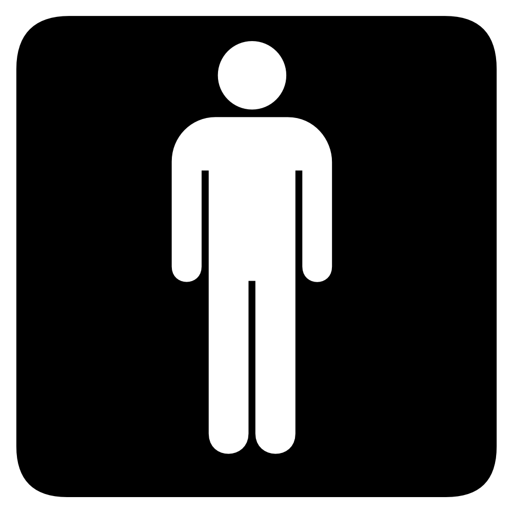 Man Symbol Toilet ClipArt Best