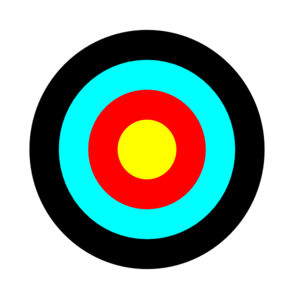 Free Printable Archery Targets French - ClipArt Best - ClipArt Best