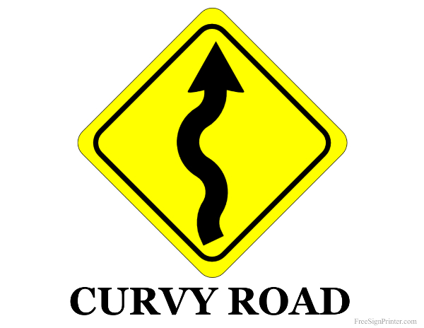 Current image within printable traffic sign