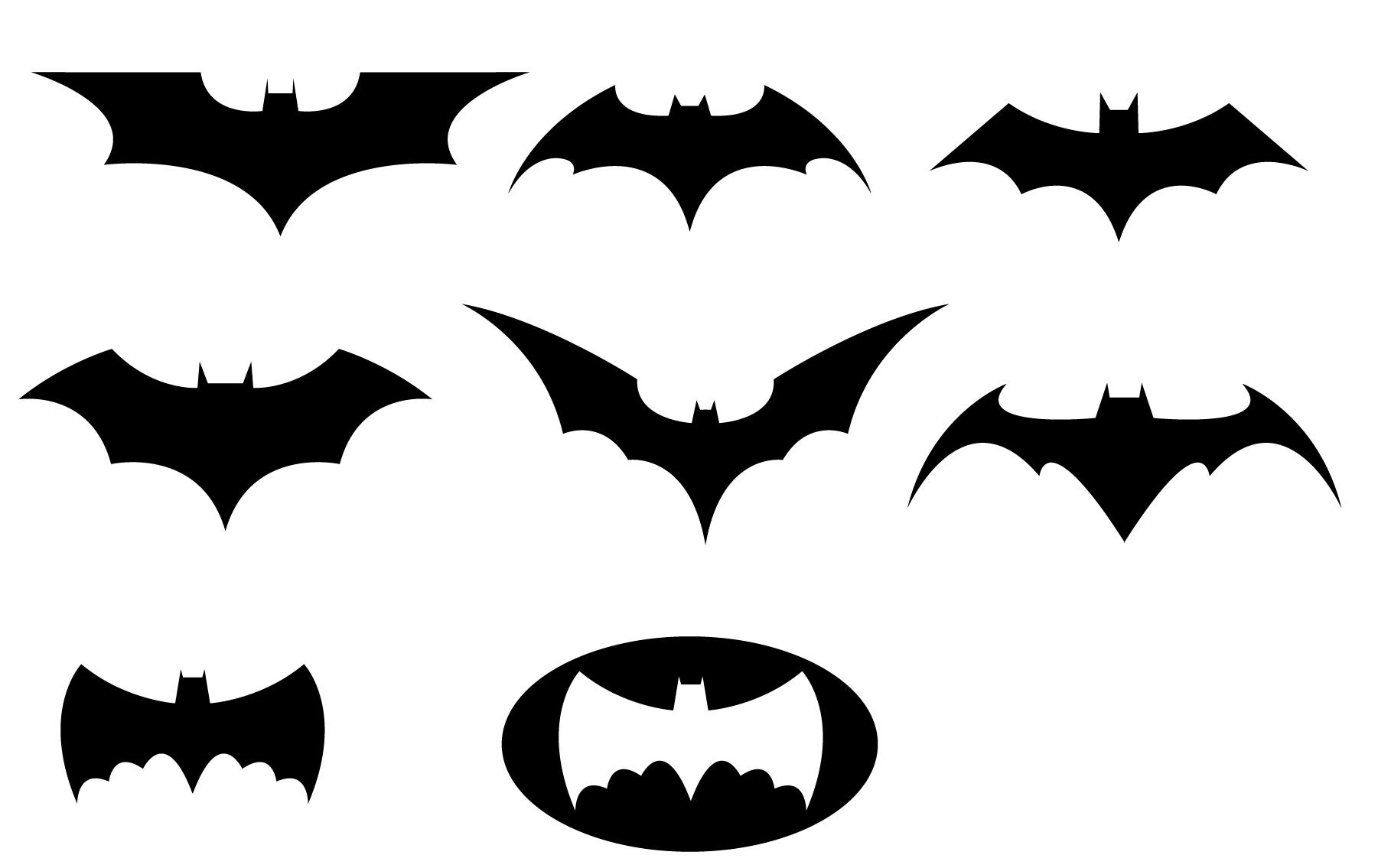 Batman Logo Printable