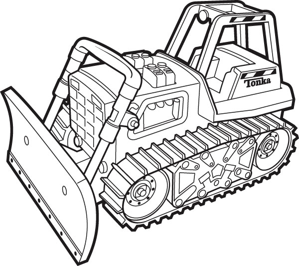 tonka coloring pages - photo#31
