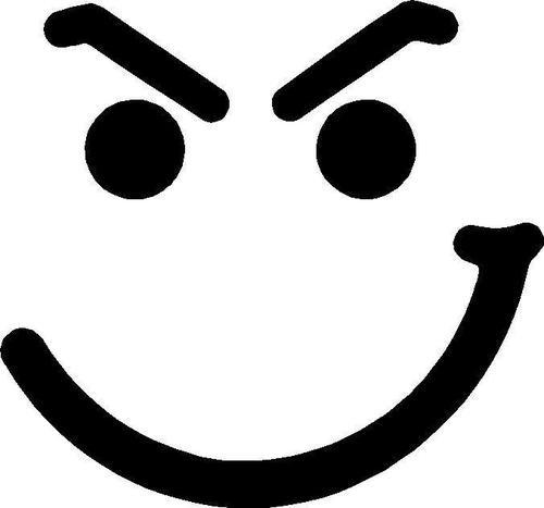 Jon Bon Jovi Have A Nice Day Vinyl Decal Sticker Car Evil Smiley ...