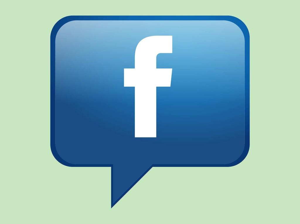 facebook logo vector art clipart best