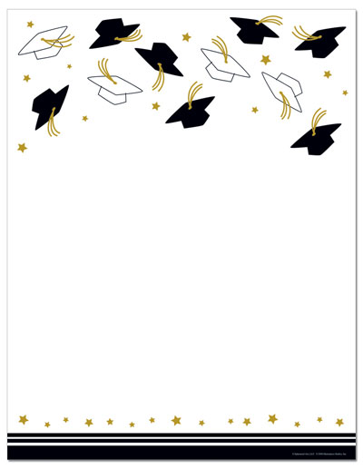 Free Printable Graduation Templates Letterhead - ClipArt Best