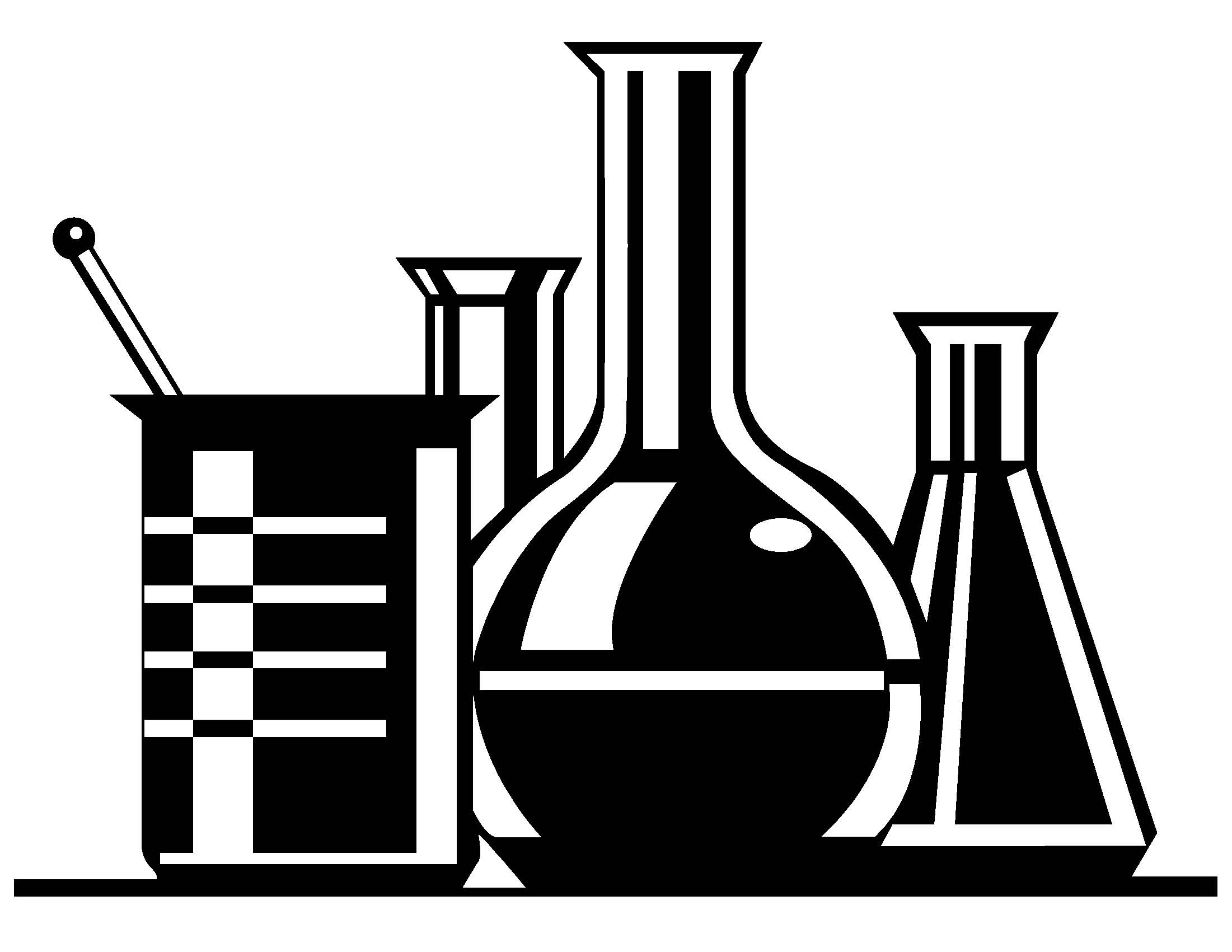 Science EXPERIMENT Black And White Clip Art - ClipArt Best