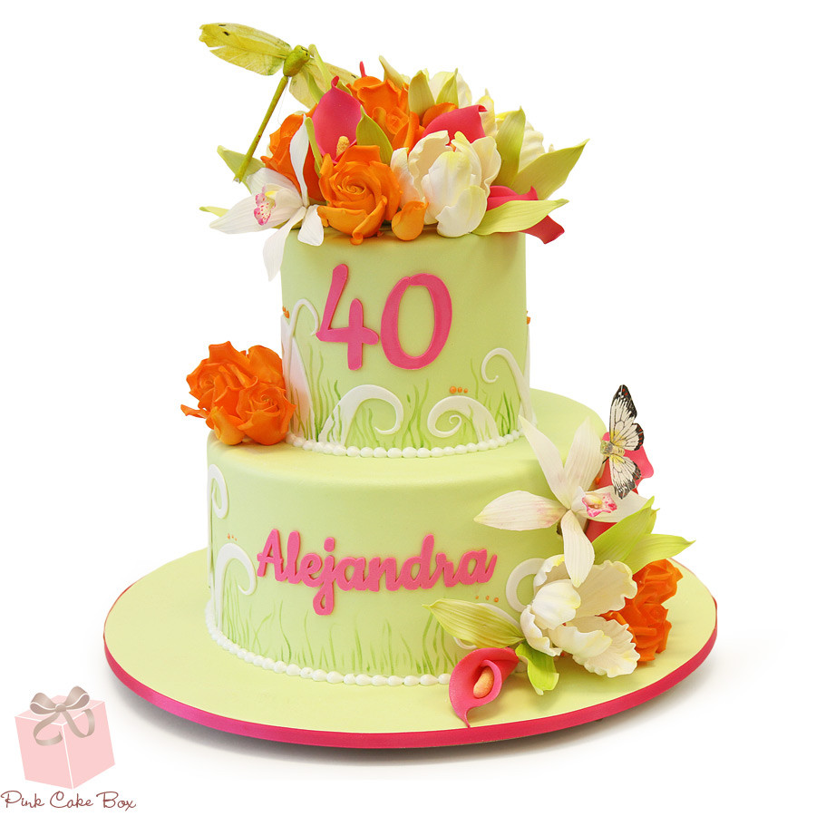 Cake 40th Birthday Clipart Best