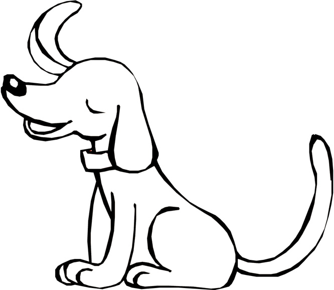 free dachshund coloring pages pictures clipart best clipart best