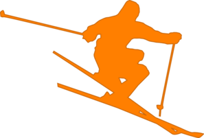 Mountain Skiing Clipart - ClipArt Best