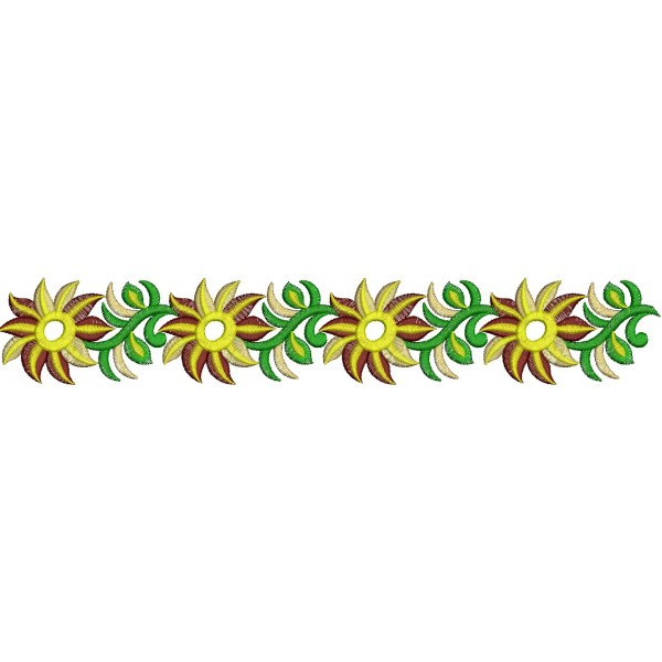 Border Embroidery Designs - ClipArt Best