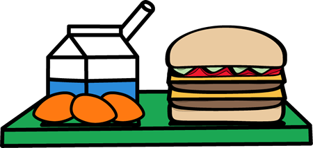 School Lunch Clip Art - School Lunch Images - Vector Clip Art
