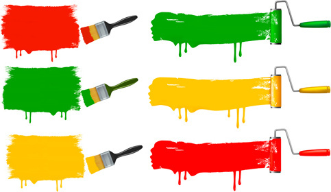 House paint brush logo free vector download (74,108 Free vector ...