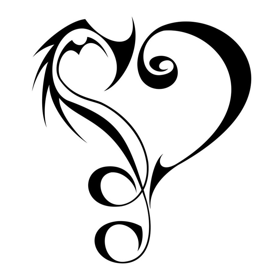 love music tattoo designs clipart best