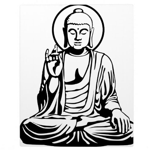 Buddha Face Line Drawing : Buddha line drawing clipart best