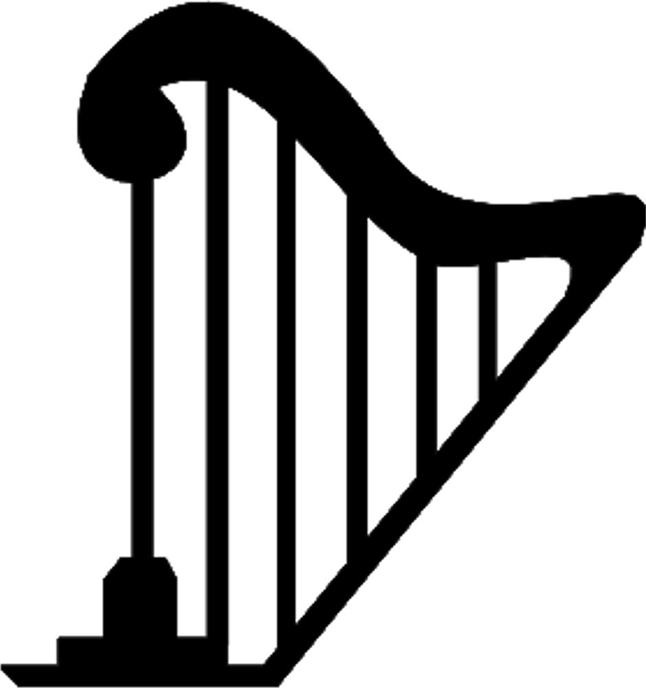 Clip Art Harp Clipart hand harp clipart best clip art clipartfox