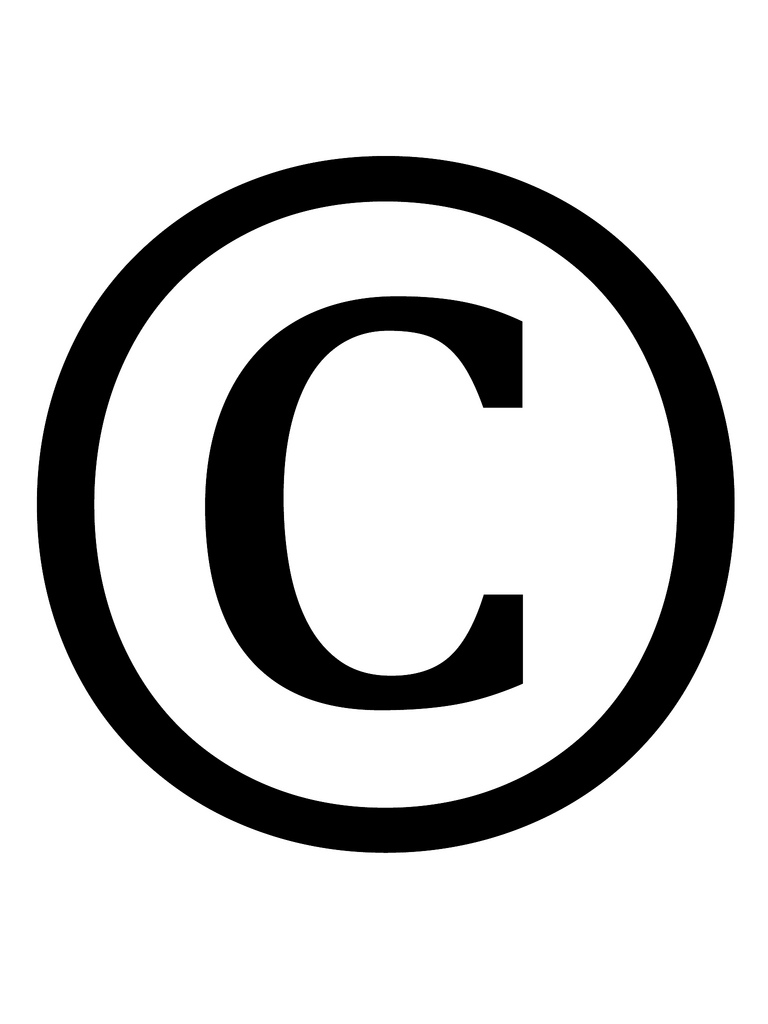 Copyright Mark - ClipArt Best