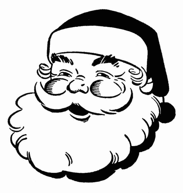 Christmas Clipart Black And White - ClipArt Best
