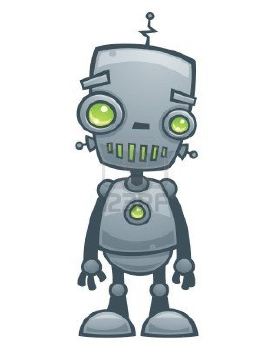 Cartoon Characters As Robots : Cartoon robot clipart best