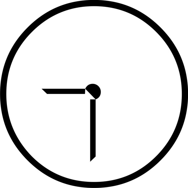 Blank Clock Face With No Numbers - ClipArt Best