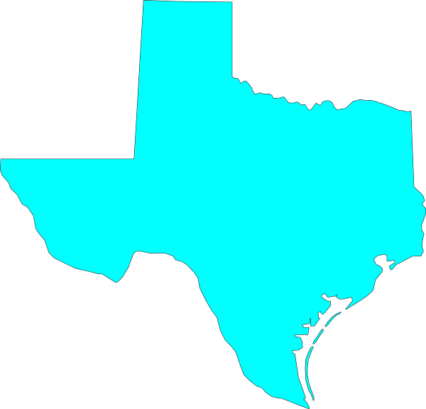 clipart map of texas - photo #9