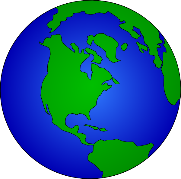 How to draw the earth clipart best for Easy to draw earth