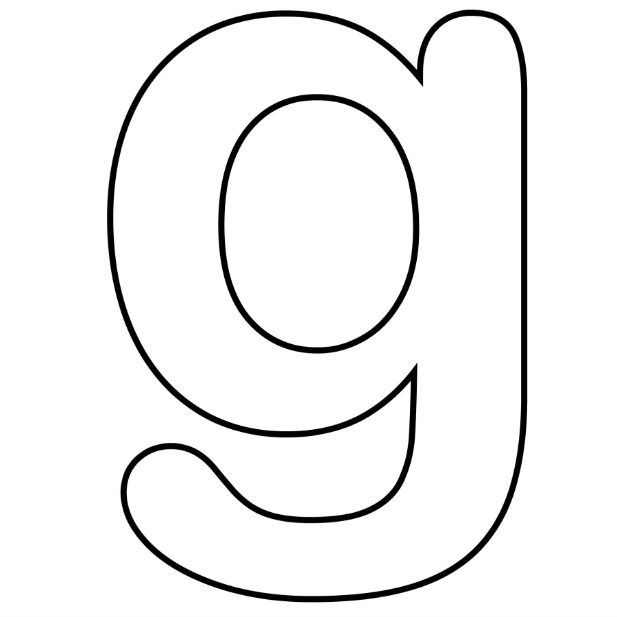 Lowercase Alphabet Coloring Pages Free : Free coloring pages of lowercase letter e