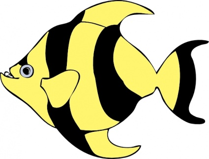Cartoon Fish Clipart Clipart Best